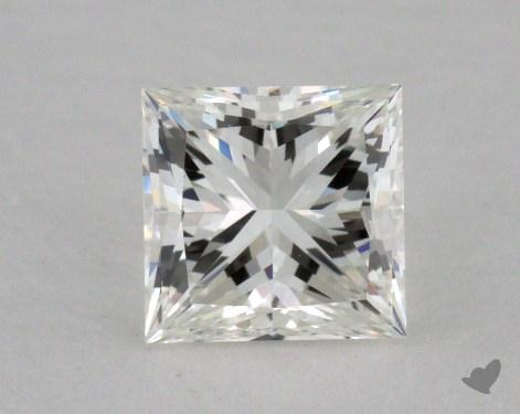 0.74 Carat H-VS1 Princess Cut  Diamond