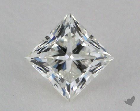 0.71 Carat H-VVS1 Very Good Cut Princess Diamond