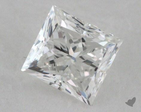 0.70 Carat E-VVS2 Good Cut Princess Diamond