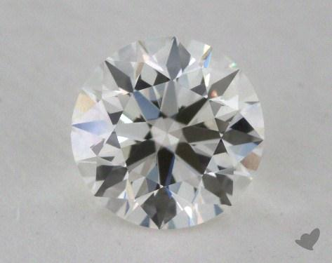 0.72 Carat I-IF Excellent Cut Round Diamond