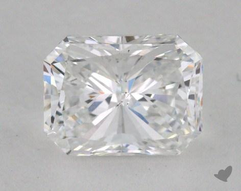 2.01 Carat E-SI1 Radiant Cut Diamond