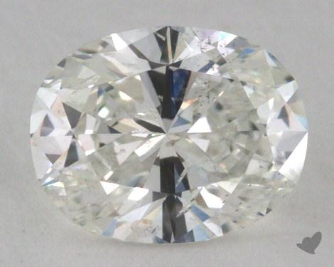 1.01 Carat H-SI2 Oval Cut Diamond