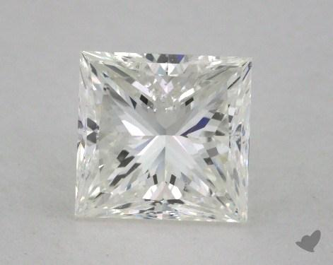 1.80 Carat G-VS2 Very Good Cut Princess Diamond