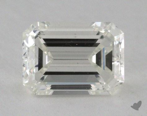 1.51 Carat H-SI1 Emerald Cut  Diamond