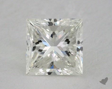 1.25 Carat I-VS2 Very Good Cut Princess Diamond