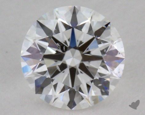 0.81 Carat E-SI1 True Hearts<sup>TM</sup> Ideal Diamond