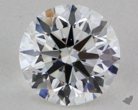0.90 Carat E-SI1 True Hearts<sup>TM</sup> Ideal Diamond