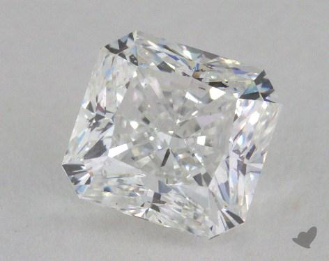 2.03 Carat D-SI1 Radiant Cut  Diamond
