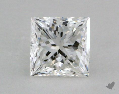 1.01 Carat E-VVS1 Ideal Cut Princess Diamond