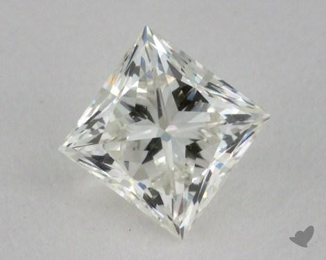 0.72 Carat I-VVS1 Ideal Cut Princess Diamond