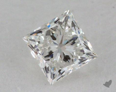0.59 Carat G-VVS2 Ideal Cut Princess Diamond