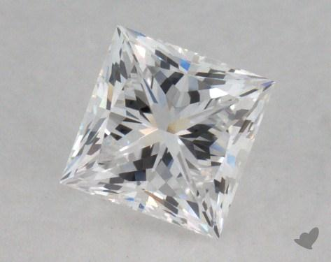 0.51 Carat D-VVS2 Very Good Cut Princess Diamond