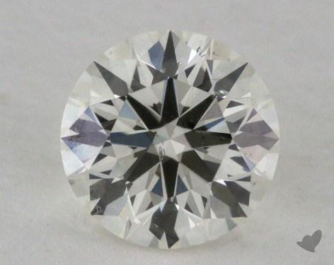 0.85 Carat K-SI2 Ideal Cut Round Diamond