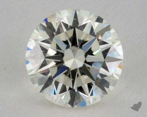 0.78 Carat K-VS2 Very Good Cut Round Diamond