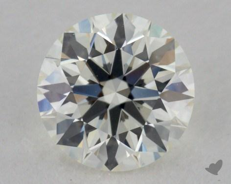 0.83 Carat K-VVS2 Ideal Cut Round Diamond