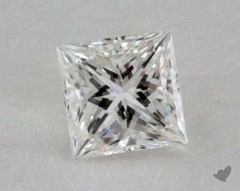 1.05 Carat F-VVS1 Ideal Cut Princess Diamond