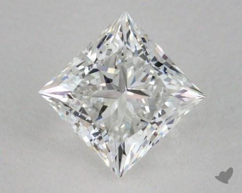 1.01 Carat F-VS1 Ideal Cut Princess Diamond