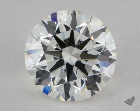 0.80 Carat I-VVS1 Excellent Cut Round Diamond 