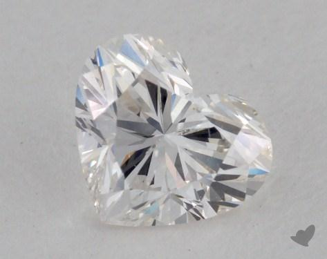 1.01 Carat G-SI1 Heart Cut Diamond
