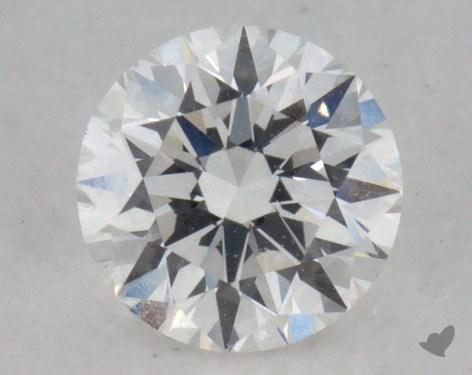 0.33 Carat G-SI1 Excellent Cut Round Diamond