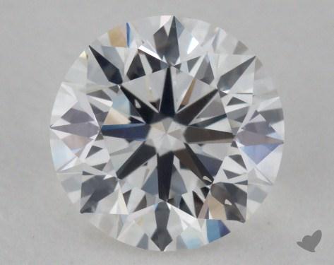 0.90 Carat F-VS2 Ideal Cut Round Diamond