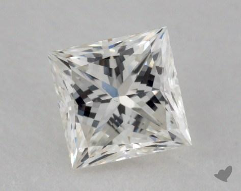 0.62 Carat I-VS1 Ideal Cut Princess Diamond