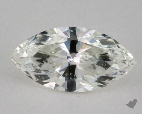 0.72 Carat H-SI2 Marquise Cut Diamond