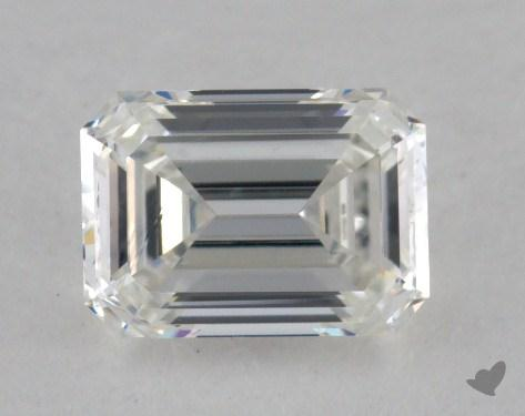 0.73 Carat I-VS2 Emerald Cut  Diamond