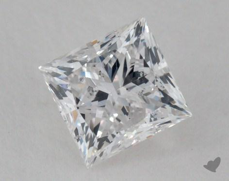 1.01 Carat E-SI2 Very Good Cut Princess Diamond