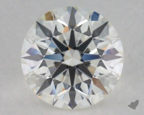 1.37 Carat I-IF Excellent Cut Round Diamond