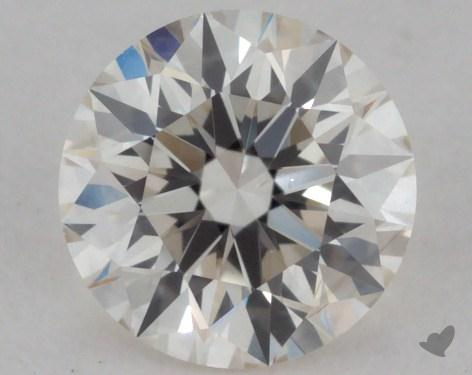 0.50 Carat J-VS2 Excellent Cut Round Diamond
