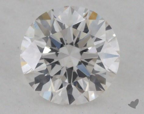 0.30 Carat G-VVS2 Excellent Cut Round Diamond