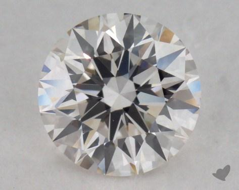 0.80 Carat I-VVS2 Excellent Cut Round Diamond