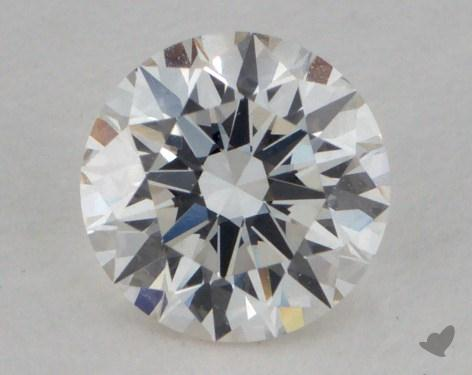 0.51 Carat H-VVS2 Excellent Cut Round Diamond
