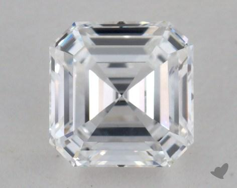 0.83 Carat E-VS1 Asscher Cut  Diamond