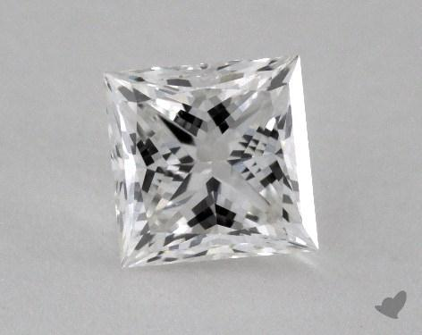 0.91 Carat F-VS2 Ideal Cut Princess Diamond