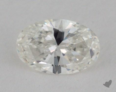 0.47 Carat H-VS2 Oval Cut  Diamond