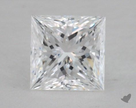1.08 Carat D-VS2 Ideal Cut Princess Diamond
