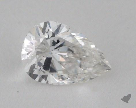 0.74 Carat E-SI2 Pear Shape Diamond