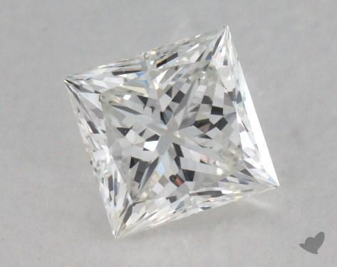 0.81 Carat G-SI1 Very Good Cut Princess Diamond