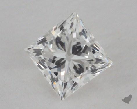 0.82 Carat F-VS1 Ideal Cut Princess Diamond