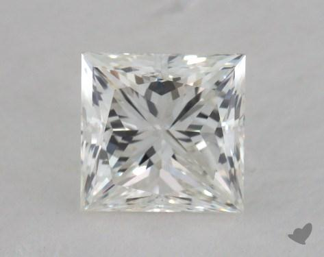 0.84 Carat H-SI1 Princess Cut  Diamond