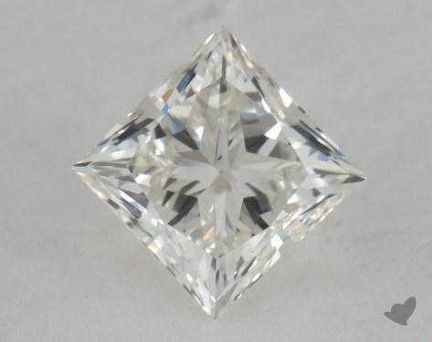 0.85 Carat I-VS2 Very Good Cut Princess Diamond
