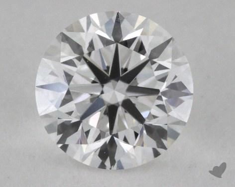 0.80 Carat E-VS1 Very Good Cut Round Diamond