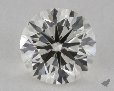 0.80 Carat K-VVS1 Very Good Cut Round Diamond