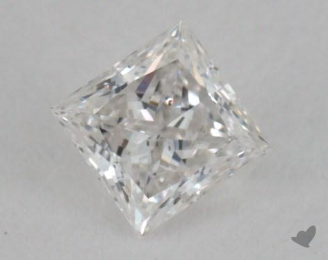 0.33 Carat F-SI1 Good Cut Princess Diamond
