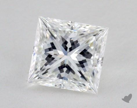 1.56 Carat F-SI2 Ideal Cut Princess Diamond