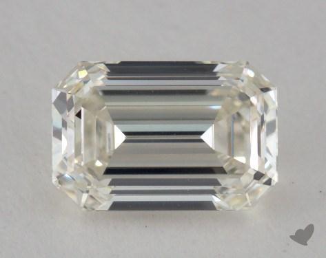 0.72 Carat K-VVS2 Emerald Cut Diamond