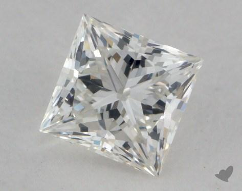 0.74 Carat H-VS1 Ideal Cut Princess Diamond