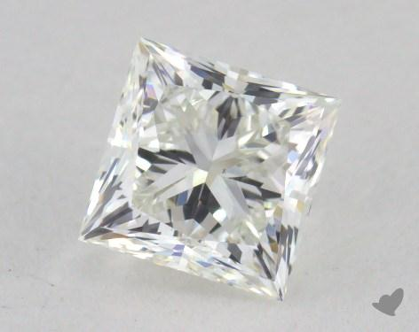 0.72 Carat H-VS2 Princess Cut Diamond